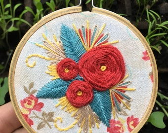 """3"""" Embroidery: Floral Fun"""