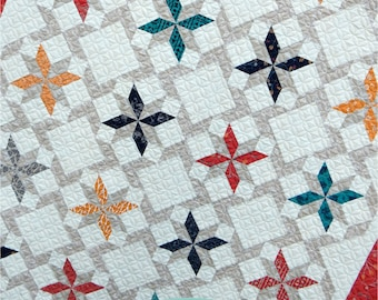 DESERT SKY Quilt Pattern by Sherri McConnell uses Valley collection