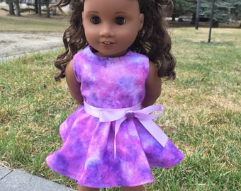 18 Inch Doll Luciana Galaxy Inspired Dress for dolls such as American Girl