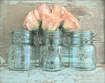 """Rose Art Print, Fine Art Photography, French Country Art, Romantic Chic Shabby Rustic, Farmhouse Print, Country Kitchen- """"Peach Blossoms"""""""