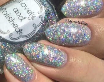 Silver Moon Holographic