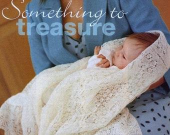 Shetland Shawl Knitting Pattern - 1ply / fingering Heirloom Cobweb Lace Baby Shawl Download