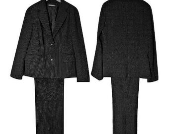 Womens Pantsuit, Vintage Pants Suit, Business Suit, Power Suit, Womens Business Suit, Professional Suit, Pantsuit, Prep Suit, Pants Suit- 16