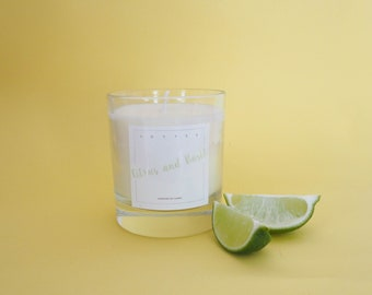 Citrus and Basil Soy Candle