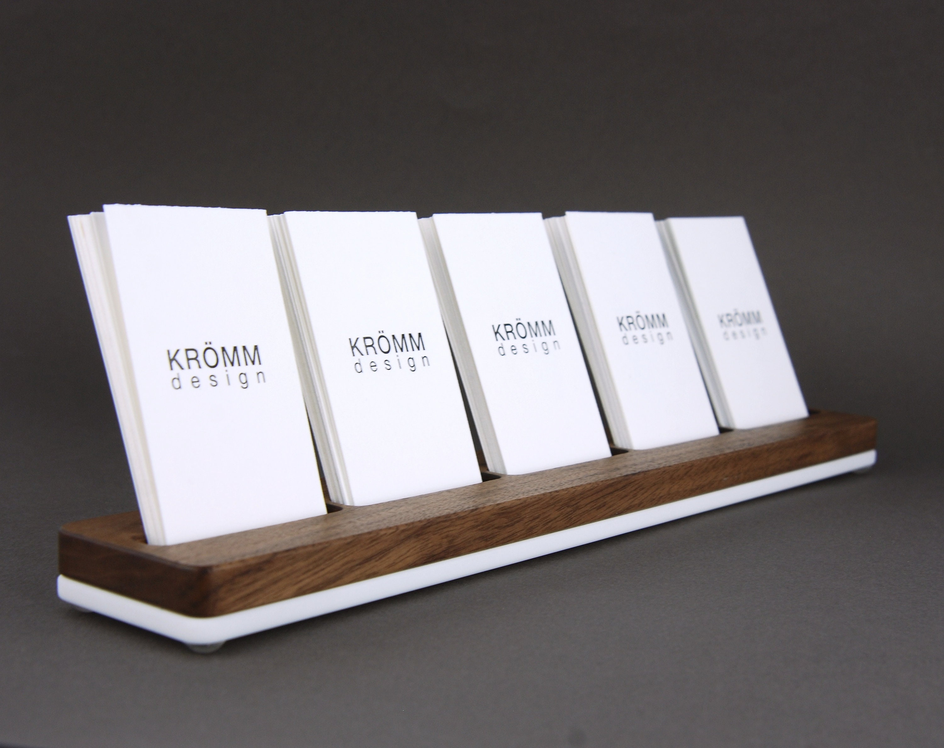 MOO Business Card Holder / Business Card Stand / Business Card