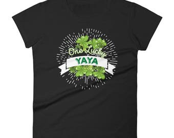 Lucky Yaya T-Shirt - ST. Patrick's Day T-Shirt For Yaya