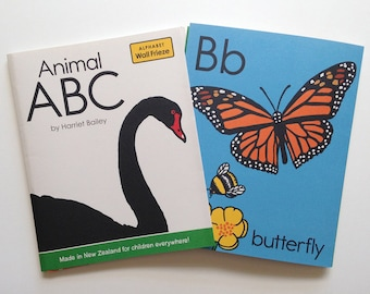 Animal ABC wall frieze, fun and colourful for children's bedroom, learn the alphabet