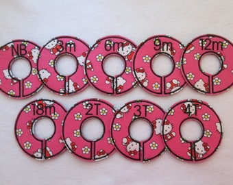 hello kitty closet divider set