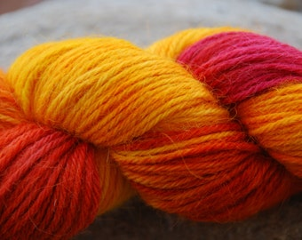 handdyed yarn -  100g/3,5 oz. -  Colour 62