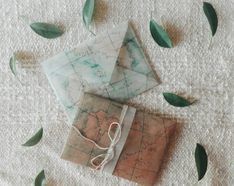 Pack of two Map Envelopes
