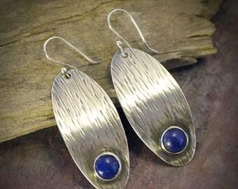 Eye in the Sky - Sterling Silver earrings