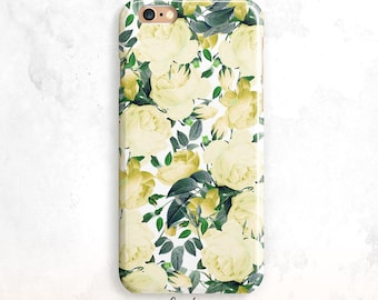 iPhone 8 Case, Vintage Roses iPhone 7 Case, iPhone X Case, iPhone 6 Plus, iPhone 6S Case, Floral iPhone 6 Case, Flowers iPhone 5, iPhone SE