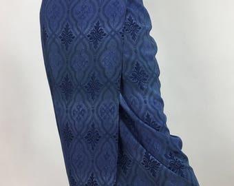 90s wrap midi skirt/vintage wrap skirt