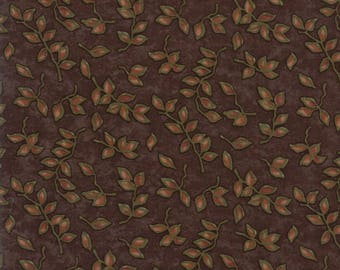 Moda COUNTRY ROAD Quilt Fabric 1/2 Yard By Holly Taylor - Earth 6664 21