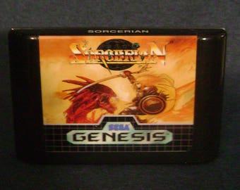 Sorcerian - Sega Genesis - Reproduction Cartridge