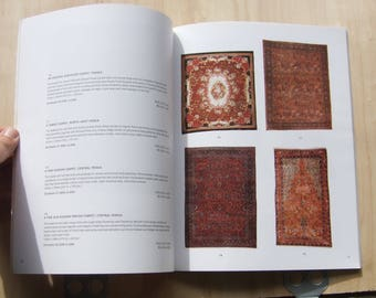 Christies Auction Catalog, Oriental Carpets, from a 2001 sale