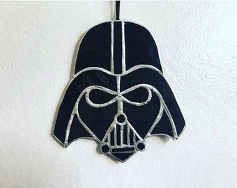 Stained glass Darth Vader