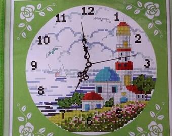 Die Lian Hua- Beautiful light house Cross Stitches Kit (A799)
