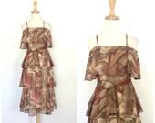 Vintage Party Dress - 70s...