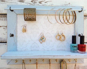 jewelry holder,  jewelry organization,  jewelry organizer, Jewelry Organizers Storage,  Jewelry Wall Organizer,  jewelry hanger wall
