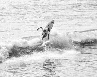 Surf art wall surfer sea waves sport