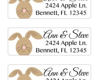 Easter Return Address Labels, Easter Basket Tags, Envelope Seals Easter, Envelope Labels, Easter Gift Tags, Printable Address Labels (648)