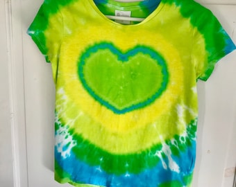 Green Love Heart T-shirt