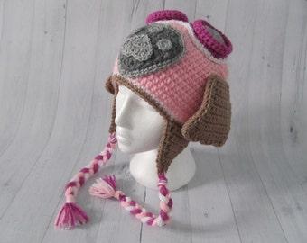 Paw Patrol Inspired Skye Hat