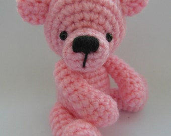 INSTANT DOWNLOAD Teddy Bear crochet pattern - PDF instructions