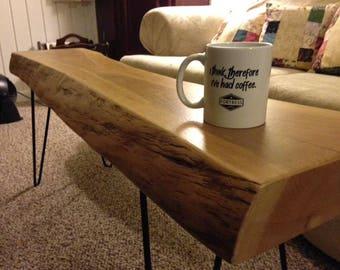 Cherry Live Edge Coffee Table