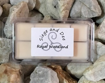 Royal Woodland | Scented Soy Wax Melting Bar