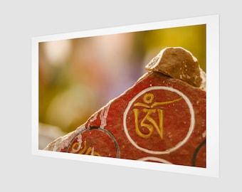 Tibetan Buddhist Symbolism Home Decor Art Print