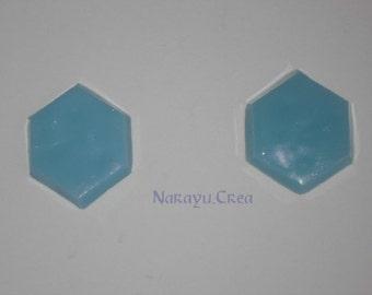 Hexagonal gems (x2)