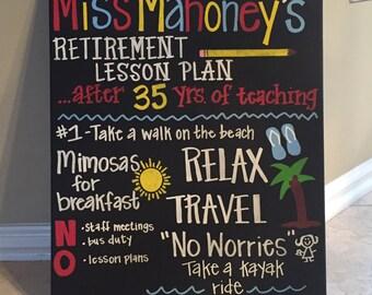 Teacher retirement board