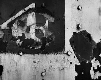 Grant Brittain Fine Art Photograph - 16X20 Black and White Abstract Print