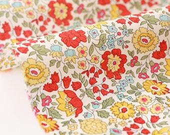 10% fabric Liberty of London-64x137cm Anjo B-yellow