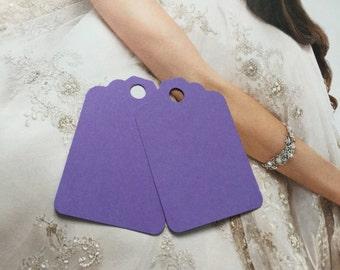 Set of 50 lavender tags,lilac tags wedding Tags, Favor Tags,Treat Bag Tags, Product Tags,Hang Tags,Wish Tree Tags,birthday tags ,thanks tags