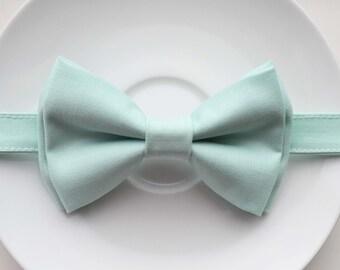Mint bow tie, boys bow tie,baby bow tie, adult bow tie, groomsmen bow tie, wedding bow tie