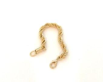 Gold Filled Chain Bracelet