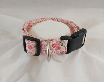 Dog or Cat Collars, Adjustable Collar, Pet Collar, Small Dog Collar, Girl dog Collar, Breakaway Dog Collar, collar de perro,