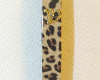 Leopard Skin Print Mezuzah