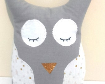 Plush OWL head