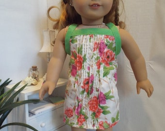 """Spring Flowers Dress & Sweater Outfit--Fits 18"""" Dolls LIKE American Girl"""