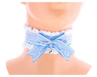 turquoise choker bridal collar bridal choker necklace wedding turquoise choker bridal choker collar satin lace bow turquoise white 2150