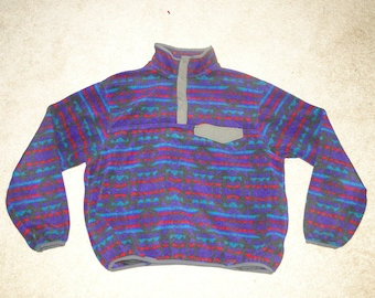 Vintage EMS 90s Sweater Pullover made in USA Sz XL