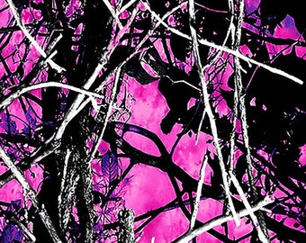 Dark pink and purple camo htv,vinyl