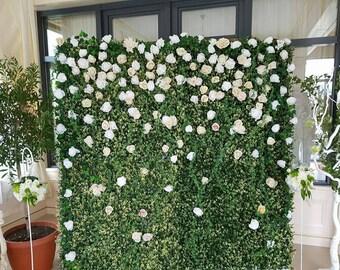 Backdrop Crepe Paper Flowers