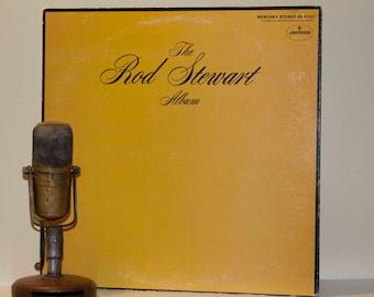 "Rod Stewart Vinyl Record Album ""The Rod Stewart Album"" (1971 Mercury Records with ""Handbags and Gladrags"")   - Vintage Gatefold Vinyl"