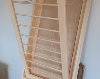 Drying Rack Laundry Drying Rack Wall Drying Rack Laundry Room Large Drying Rack Laundry Storage Wood Drying Rack