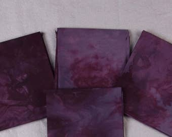 Boysenberry Jam Hand-Dyed Quilting Cotton Fat Quarter